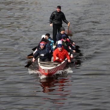 Первая тренировка на воде в 2017 году