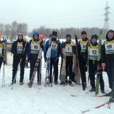 Команда Дельфин Пушкино на на 20-м ЧВМ по лыжам 4 марта в Битце