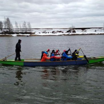 Команда «Дельфин» города Пушкино преодолела Дзержинский марафон