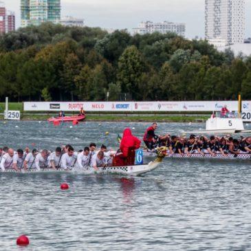 Чемпионат города Москвы по гребле на Драконах 2018